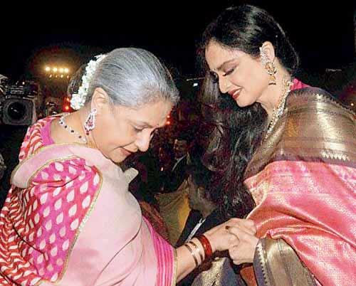 When Jaya Bachchan met Rekha...