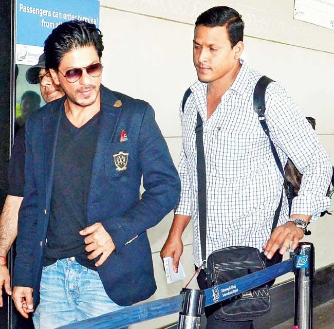 Shah Rukh Khan and Ravi