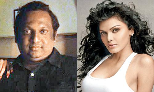 Sherlyn Chopra and Producer Rupesh Paul
