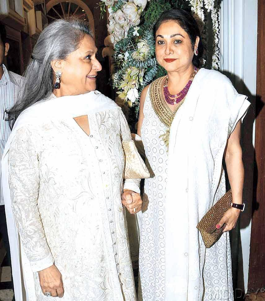 Jaya Bachchan and Tina Ambani