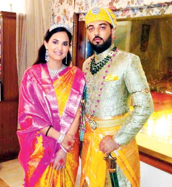 Nivritti Kumari Singh Deo and Lakshyaraj Singh