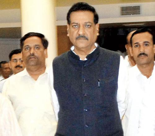 Sources say Prithviraj Chavan kept his NCP cabinet colleagues in the dark about the agenda of yesterday's meeting, so the alliance partner could not claim credit for the sops. File pic