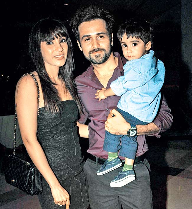 From left: Parveen, Emraan Hashmi and Ayan