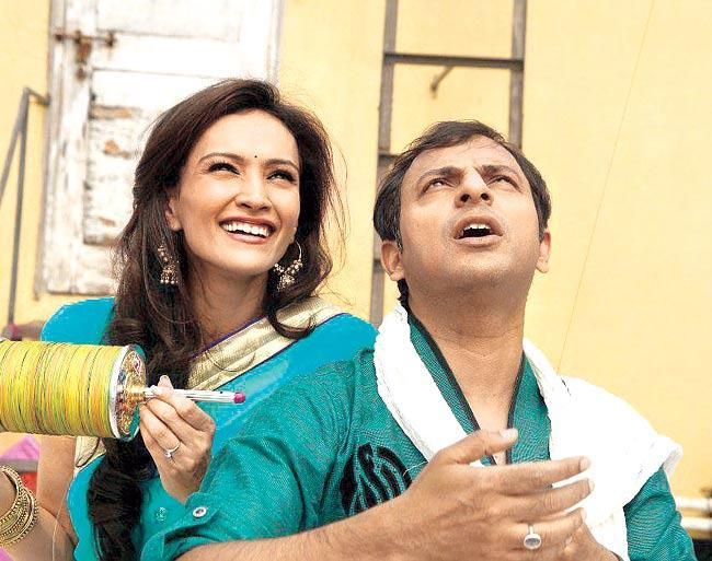 Dipannita Sharma and Joy Sengupta in 'Take It Easy'