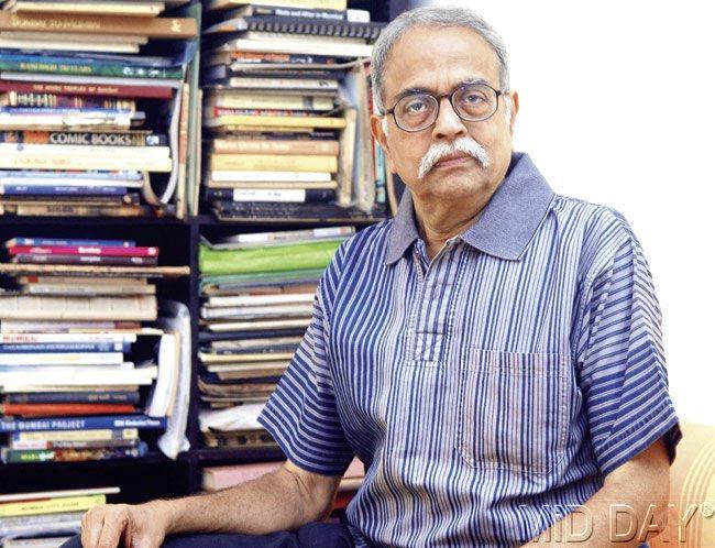 Noted historian Deepak Rao learnt from the late Jamshed Dorab Nagarvala (then DCP) about Godse's stay in the records section of the Mumbai Police Special Branch. Pics/Sayed Sameer Abedi