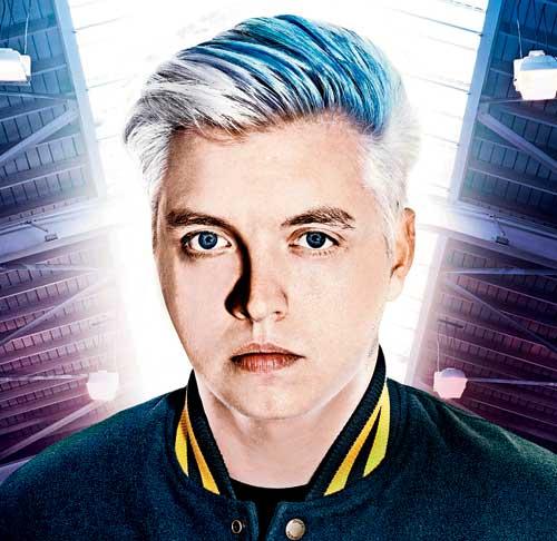 Joshua Steele aka Flux Pavilion, English producer and DJ
