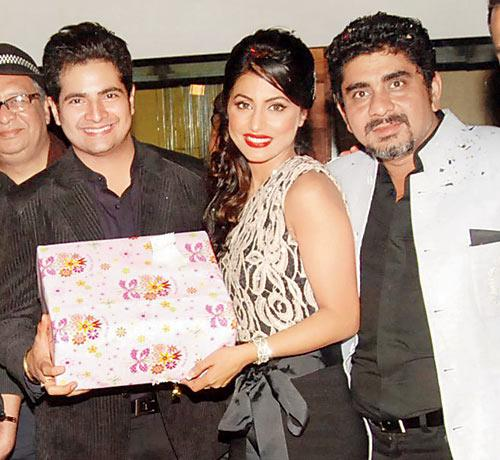 Karan Mehra, Hina Khan and director Rajan Shahi