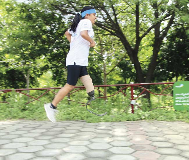 27-yr-old Kiran Kanojia, who works for Infosys in Hyderabad, started running only five months ago