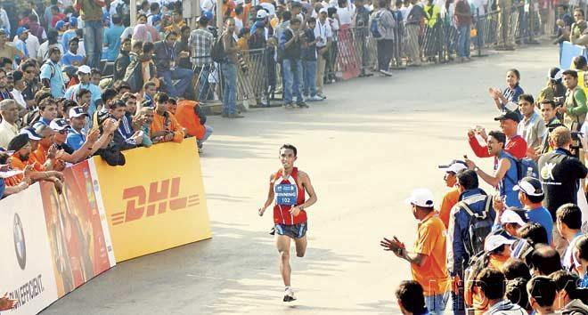 Elite Indian athlete Binning Lynkhoi. Pic/Atul Kamble