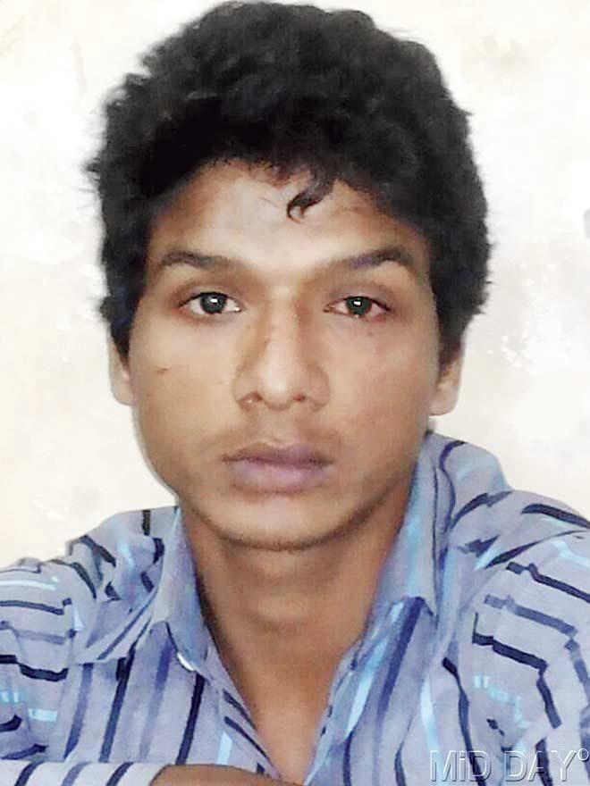 Murtuza Hasani (21) has been nabbed. Pic/Siddharth Dhadve