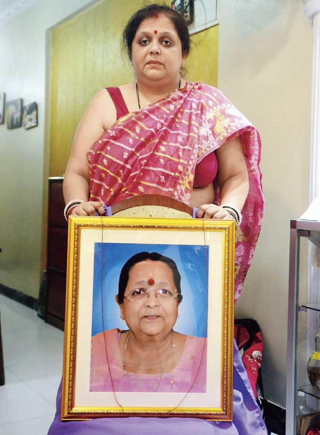 Nandini Suchde, who filed the RTI, has alleged that her mother, who was under the care of Dr Saraf (above), died due to negligence