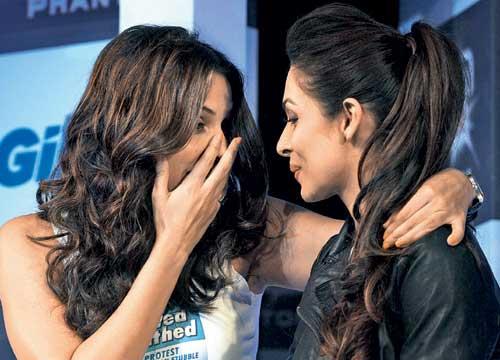 Neha Dhupia and Malaika Arora Khan
