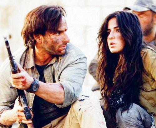 Saif Ali Khan and Katrina Kaif in Phantom