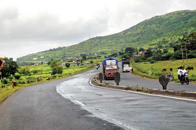 The old Pune-Mumbai Highway is set for a facelift, thanks to approaching elections. File pic