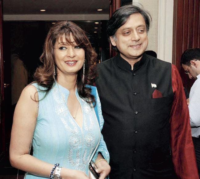 Sunanda and Shashi Tharoor were embroiled in a Twitter controversy barely two days before Sunanda was found dead in a Delhi hotel