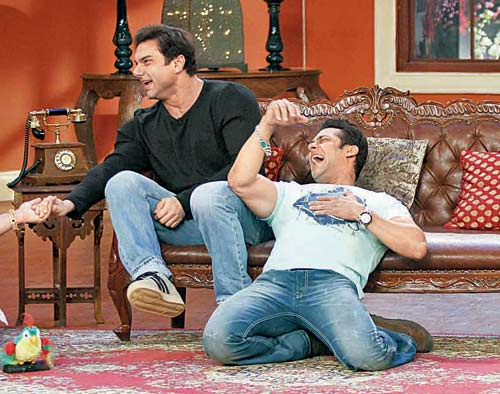 Sohail Khan and Salman Khan