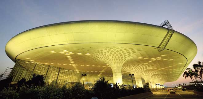 Terminal 2 of the international airport is a glowing new destination in itself. Pic/AFP