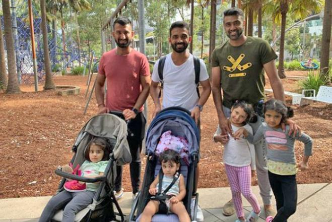 See photos: Ajinkya Rahane, Cheteshwar Pujara and R Ashwin enjoy 'Fathers Day Out' with babies in Sydney