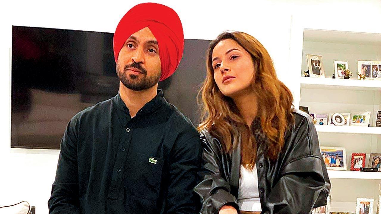 Honsla Rakh: Diljit Dosanjh and Shehnaaz Gill wrap up Canada schedule