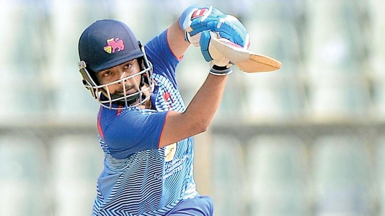 Vijay Hazare Trophy: Prithvi Shaw back with a match-winning ton vs Delhi