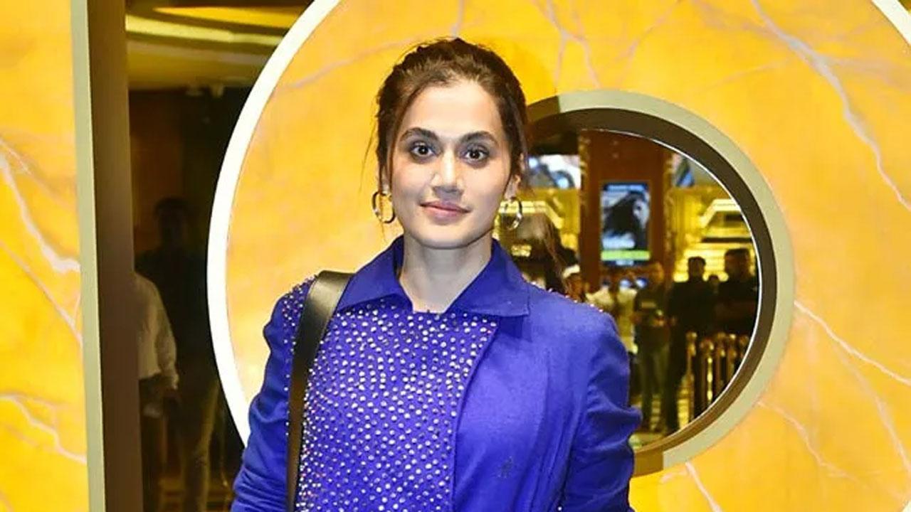 बॉलीवुड अभिनेत्री तापसी पन्नू