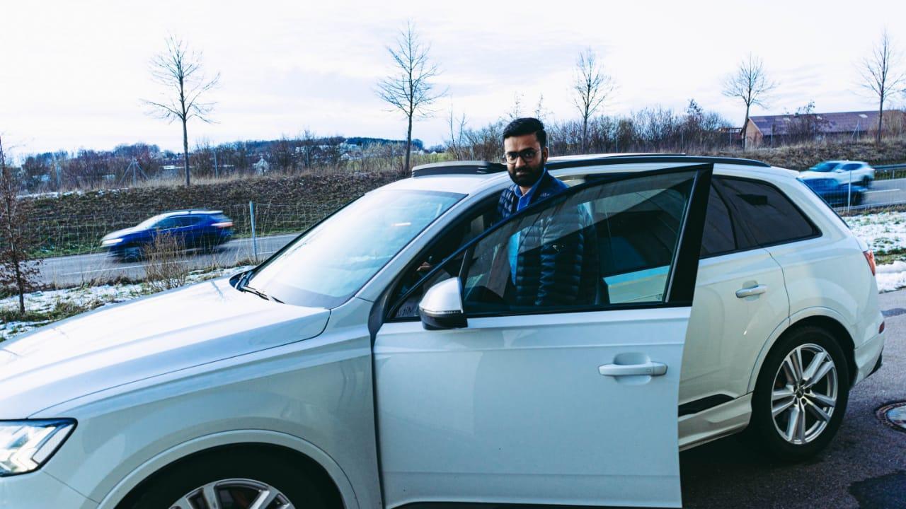 Photo of Hardik Jethva: An Entrepreneur