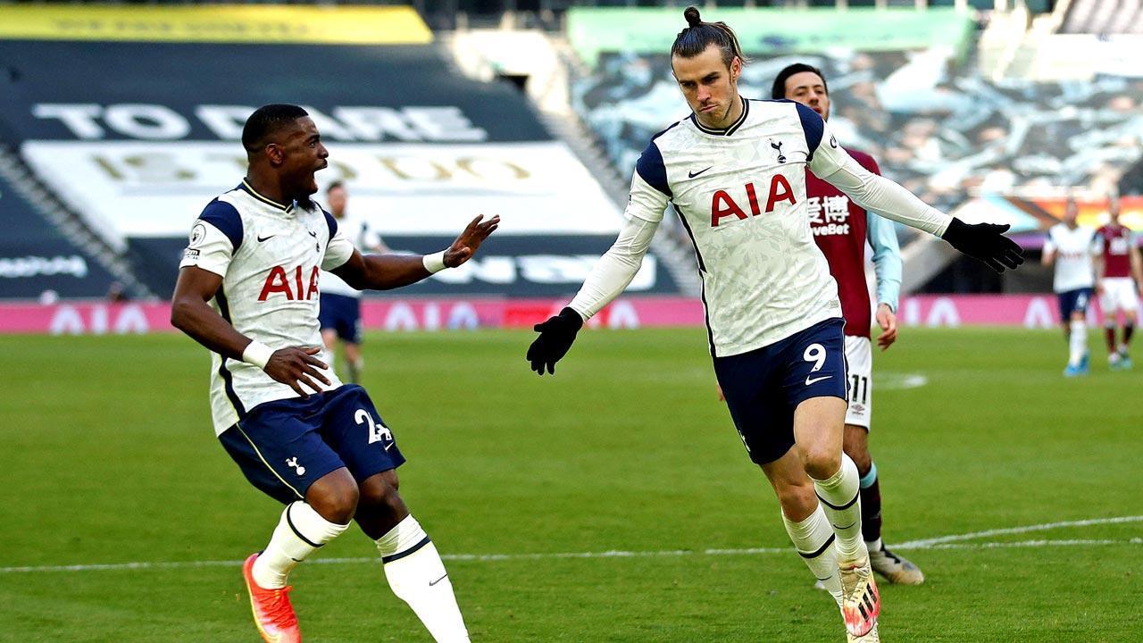 EPL: Gareth Bale scores brace as Tottenham routs Burnley 4-0