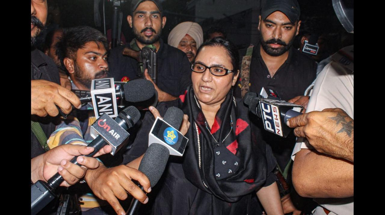 Punjab minister Razia Sultana resigns from CM Charanjit Channi's Cabinet in 'solidarity' with Navjot Sidhu
